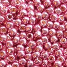 Toho 8/0 Seed Beads Permanent Finish Galvanised Pink Lilac PF553 - 10 grams